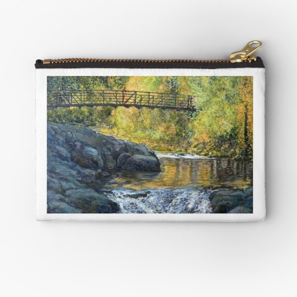Boulder Creek - Late Afternoon Zipper Pouch
