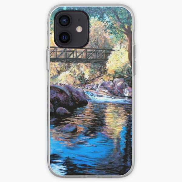 Boulder Creek Bridge - Late Afternoon iPhone Soft Case