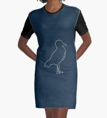 Seagull Graphic T-Shirt Dress