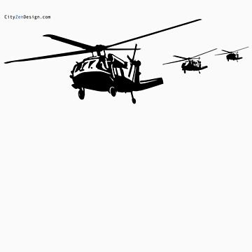 Helicopters in Action by CityZenDesign