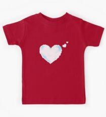 heart cloud Kids Tee