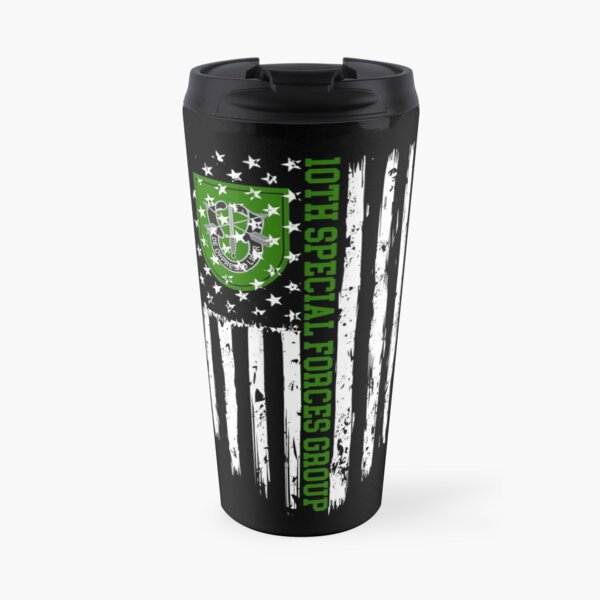 10th Special Forces Group Travel Mug
