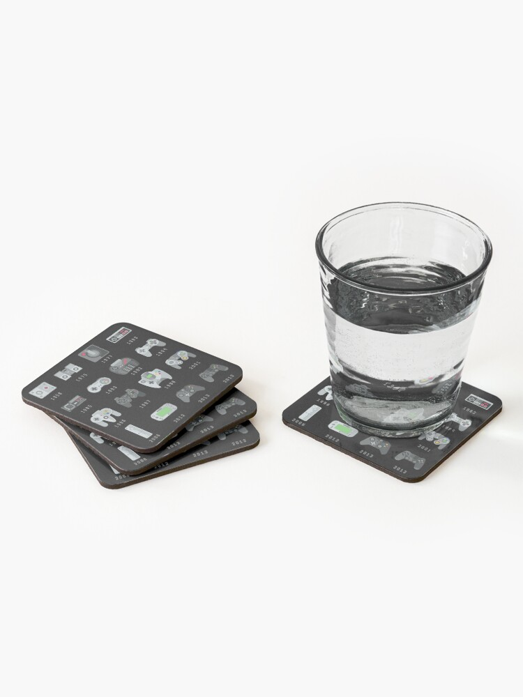 Alternate view of Geek Gaming Controllers  Coasters (Set of 4)