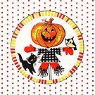 """""""Spooky BFFs"""" Vintage Halloween inspiriert von CanisPicta"""