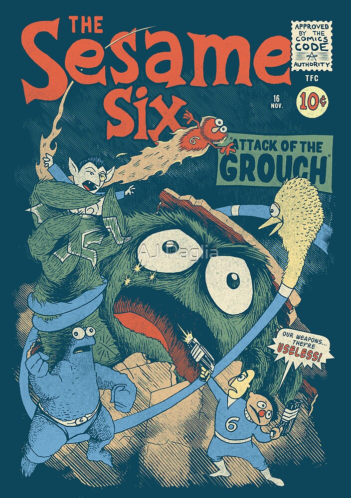 The Sesame Six by AJ Paglia