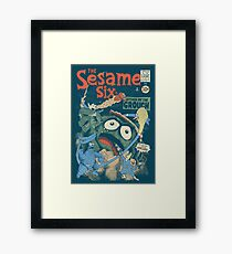 The Sesame Six Framed Print