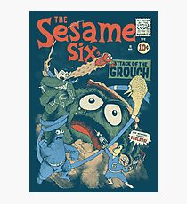 The Sesame Six Photographic Print