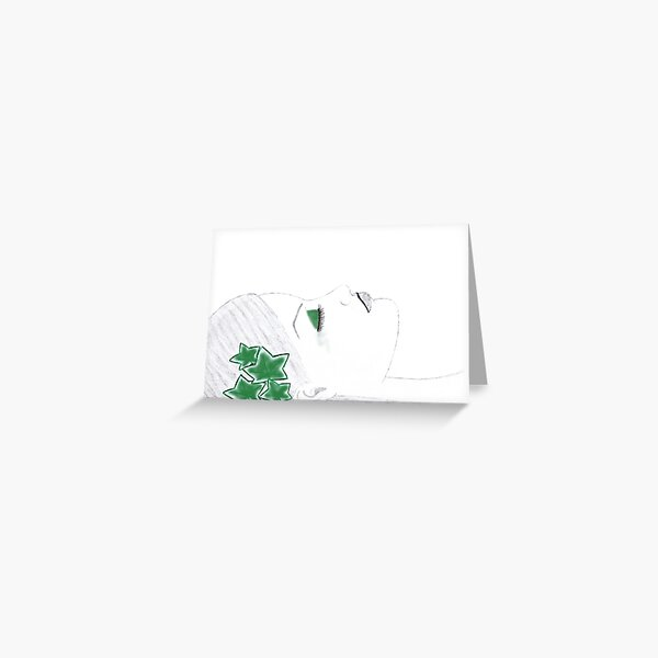 Poison ivy Greeting Card