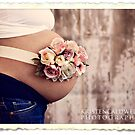 Belly Bouquet}Vintage Rose Buds by Kristen  Byrne