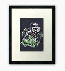 The Great GonZom Framed Print
