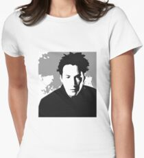 Keanu Reeves in the Matrix, Grey Color T-Shirt
