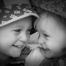Sibling Love by crickmedia