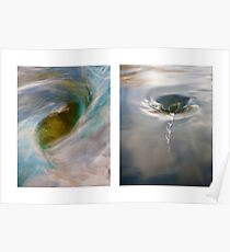Whirlpool I (Above and Below) Poster