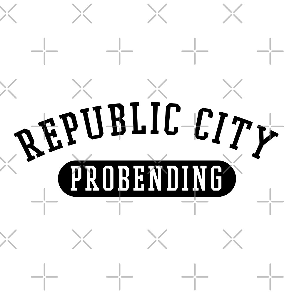 Republic City Probending (Black) by cnfsdkid