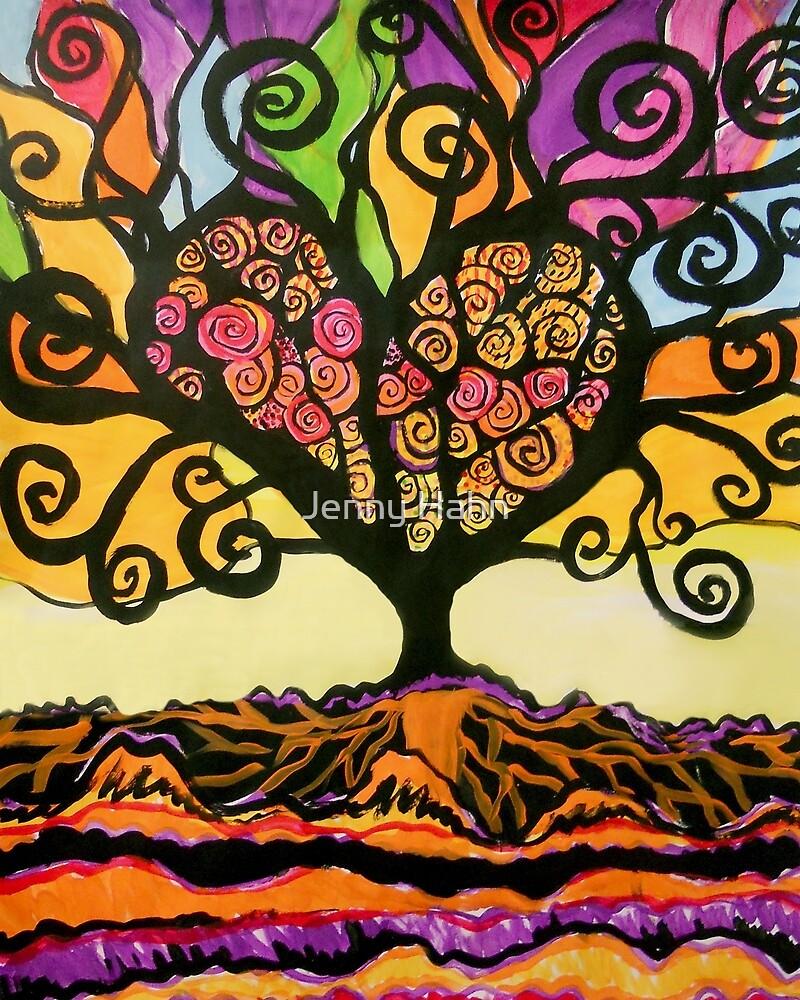 Tree of Love by Jenny Hahn
