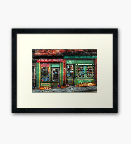 Old Book Store  Framed Print