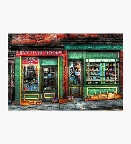Old Book Store  Photographic Print