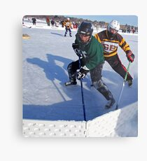 Pond Hockey - Hockey Players Metal Print