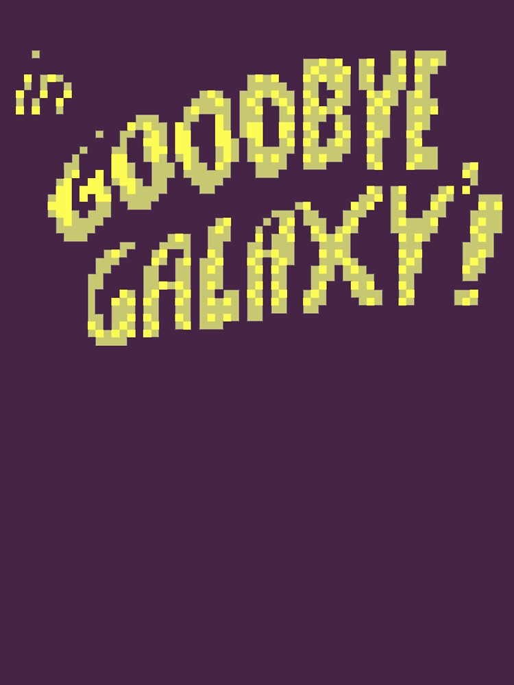 TShirtGifter presents: Keen: Goodbye Galaxy Pixel Shirt   Unisex T-Shirt