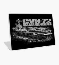 USS Abraham Lincoln (CVN-72) Laptop Skin