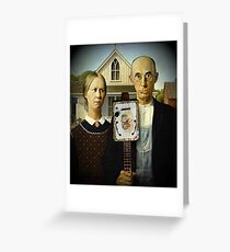 CBG QUAKERS APPROPRIATION Greeting Card