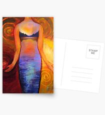 Evening Gown Postcards