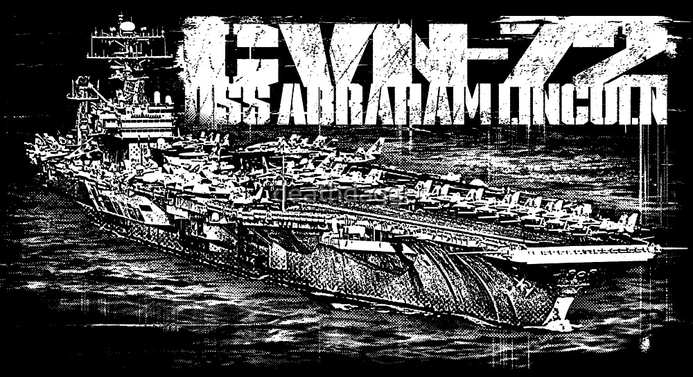 USS Abraham Lincoln (CVN-72) by deathdagger