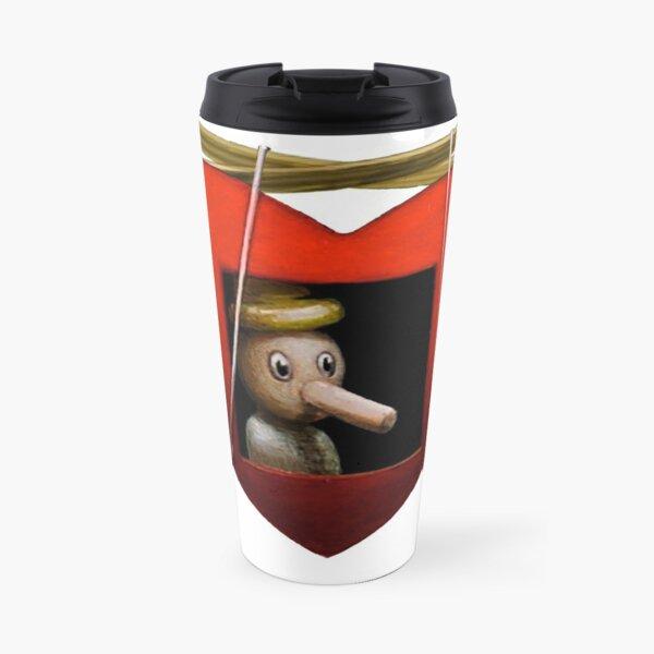 Still Life with Pokerface Travel Mug