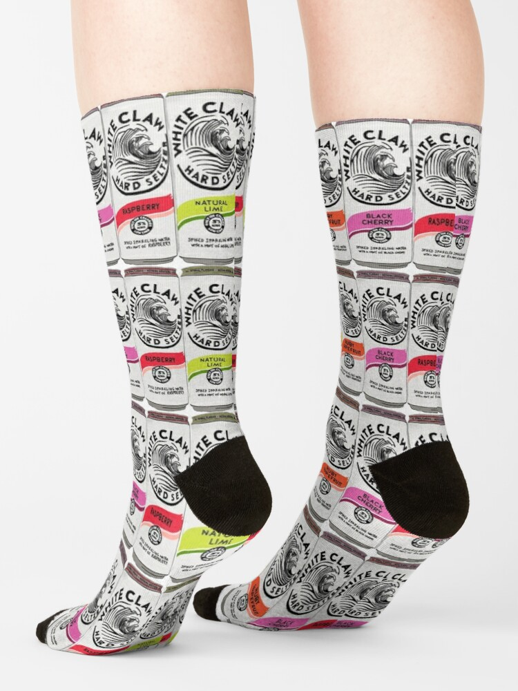 Alternate view of White claws Socks
