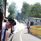 All Aboard the Puffing Billy by TonyCrehan