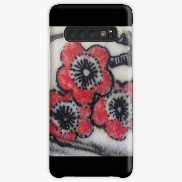 Red Blossoms Samsung Galaxy Snap Case
