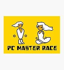 His and Her PCMR - PC Gaming Master Race Photographic Print