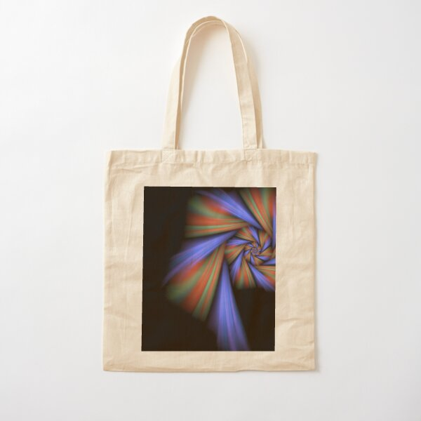 Softly Striped Loner Cotton Tote Bag