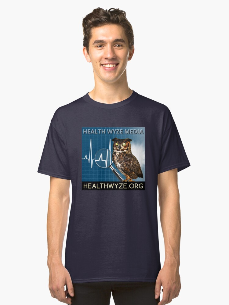Alternate view of Health Wyze Media Classic T-Shirt
