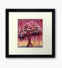 Prayer Tree II Framed Print