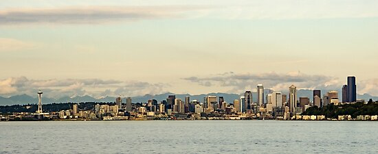 Seattle Skyline by Brent Olson