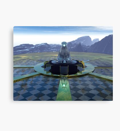 The Temple Of Tomorrow Canvas Print