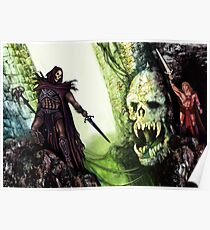 The Battle for Castle Grayskull Poster