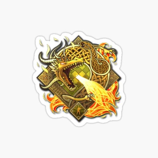 Pegatina   Dragon Lore (Foil) Pegatina