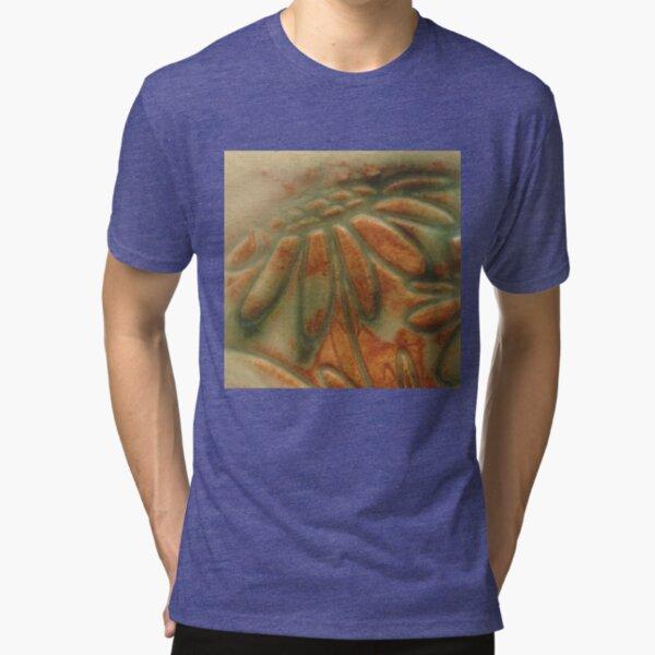 Ceramic Daisies Tri-blend T-Shirt