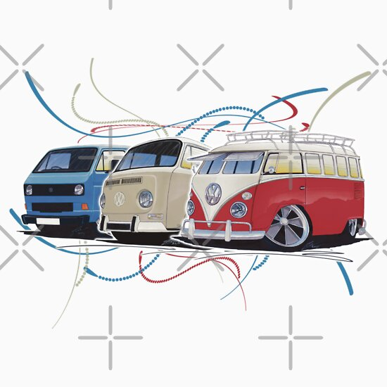 TShirtGifter presents: VW Bus Collection