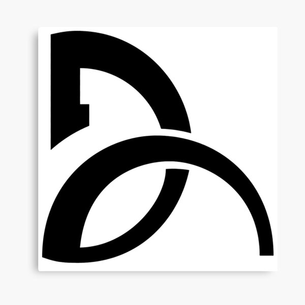 Djokovic Logo Canvas Print By Hammerson Redbubble