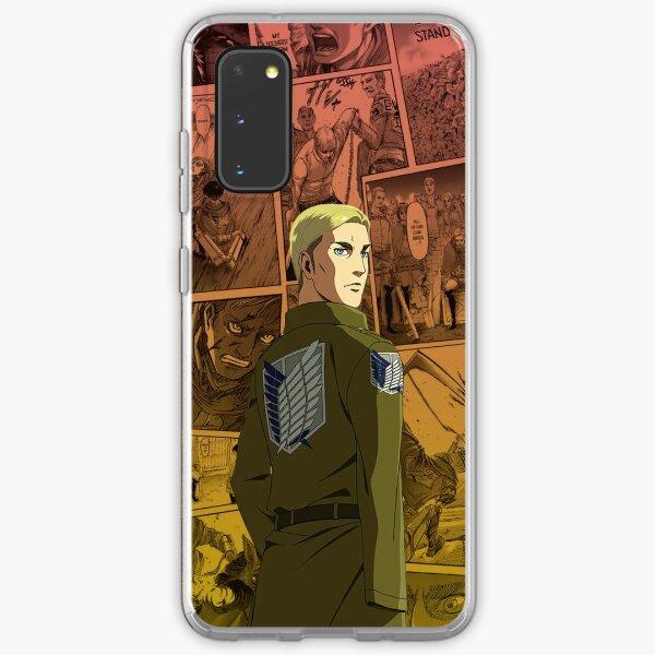 Attack on Titan - Erwin Smith Manga Compilation  Samsung Galaxy Soft Case