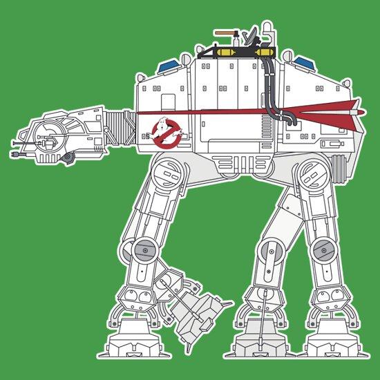 TShirtGifter presents: Ghostbusters AT-AT-co1 T-Shirt