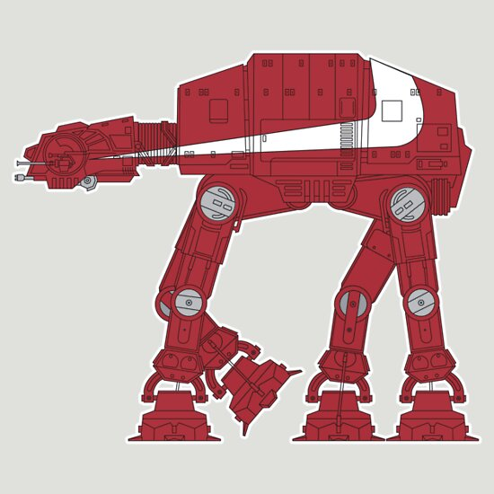 TShirtGifter presents: Starsky & Hutch AT-AT