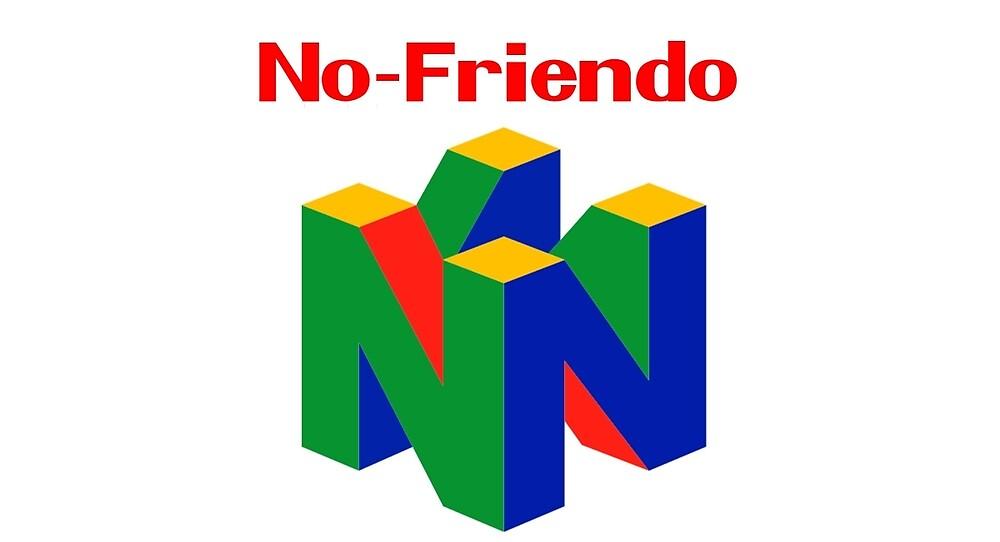 Nintendo - No Friendo by brzt