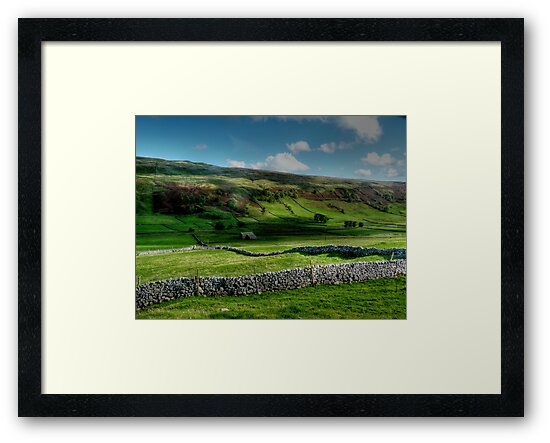 Light and Shade and Dry Stone Walls by Colin Metcalf