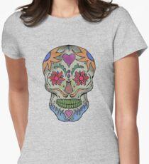 Adult Coloring - Skull T-Shirt