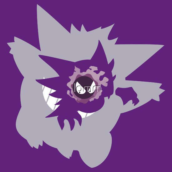 TShirtGifter presents: Gastly - Haunter - Gengar