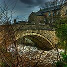 Aysgarth Bridge and The Old Mill by Jamie  Green